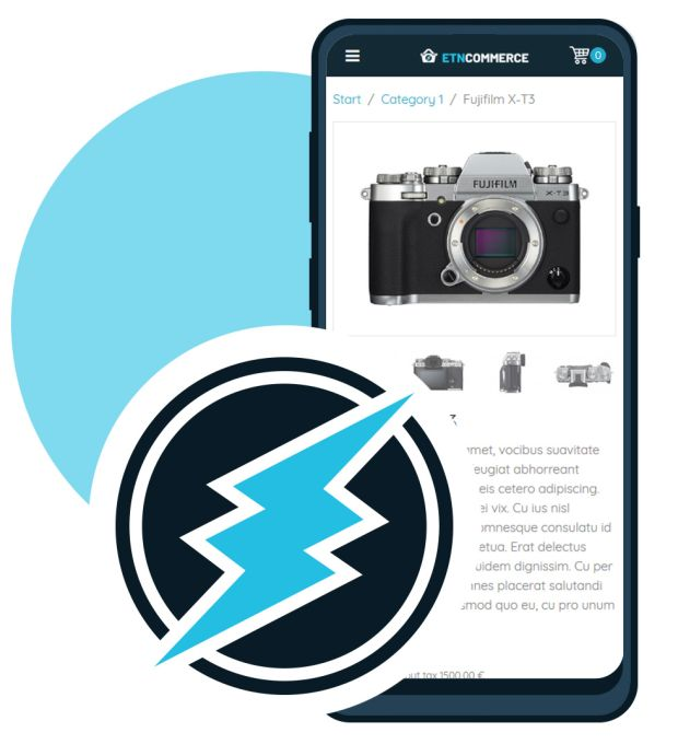 Electroneum Instant Payment webshop / eCommerce