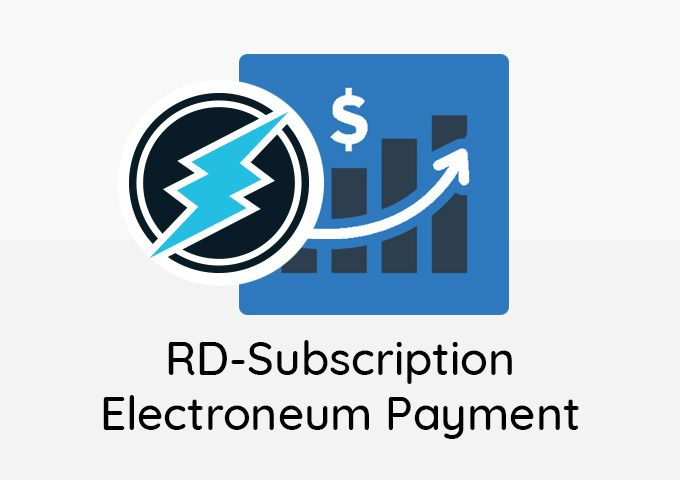 RD-subscription ETN Payment Plugin